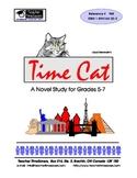 Time Cat by Lloyd Alexander: Novel Study - Grades 5-7