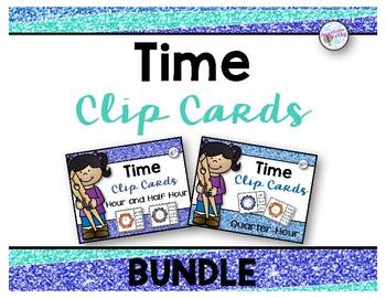 Time Clip Card Bundle