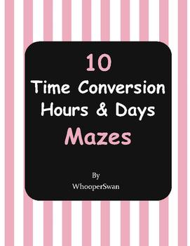 Time Conversion Maze