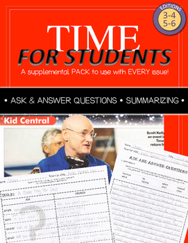 Time For Kids Supplemental Pack - Ask & Answer Questions +