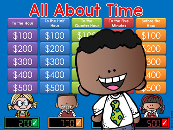 Time GAME SHOW - 2nd Grade