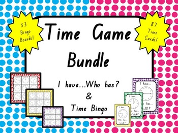 Time Game Bundle: I have who has AND Bingo
