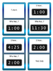 Time - I have.../ Who has...? Card Game - ESL Time Vocabulary