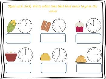 Time Interactive Slideshow (Hour, Half Hour, 5 Min)