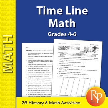 Time Line Math Word Problems