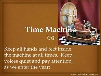 Time Machine Bundle - American History Power Point Presentations