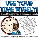 Time Management Quiz, Quiz, Trade Cards