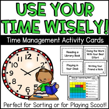 Time Management Sorting Cards
