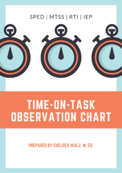 Time-On-Task (ToT) Observation Chart