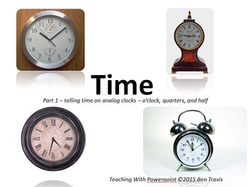 Time PACK (all 4 powerpoints!) - Teaching With PowerPoint