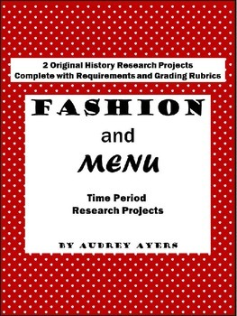 Time Period Research Projects - History Reports - Technolo
