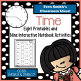 Time To the Five Minutes Printables and Interactive Notebo