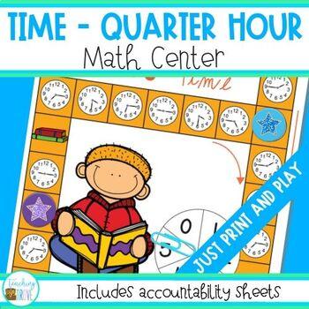 Time to the Quarter Hour Math Center