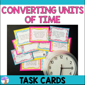 Time Relationships Task Cards