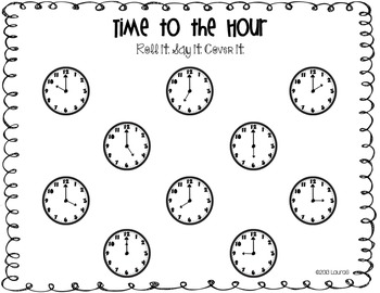 Time {Roll it. Say it. Cover it.}