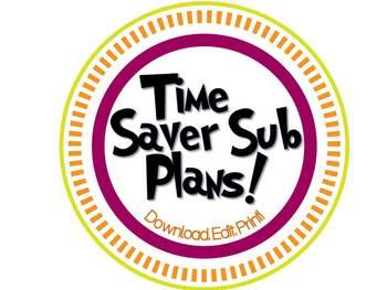 Time-Saver Sub Plans!