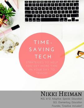 Time Saving Technology for Teachers!