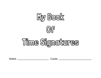 Time Signatures Packet