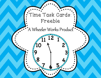 Time Task Cards Freebie