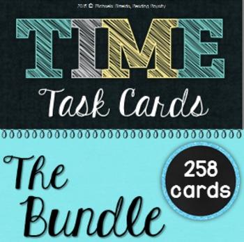 Time Task Card Bundle (258 cards!)