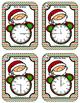 Time Task Cards - Santa Time