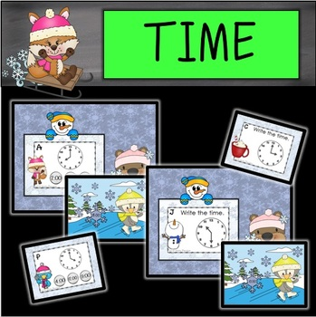 Winter Time Task Cards