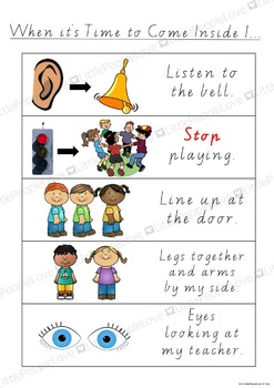 Time To Come Inside Classroom Poster
