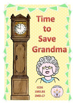 Time To Save Grandma: A Fairy Tale Telling the Time Game