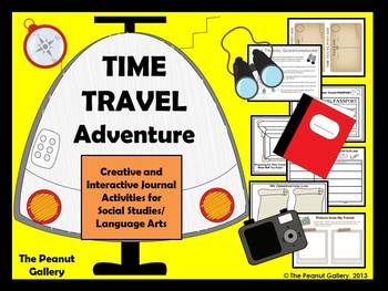 Time Travel Adventure (Creative & Interactive Notebook/Jou
