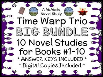 Time Warp Trio BIG BUNDLE (John Scieszka) 10 Novel Studies