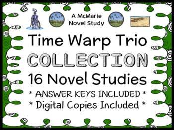Time Warp Trio COLLECTION (Scieszka) 16 Novel Studies / Re
