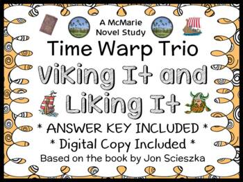Time Warp Trio: Viking It and Liking It (Scieszka) Novel S