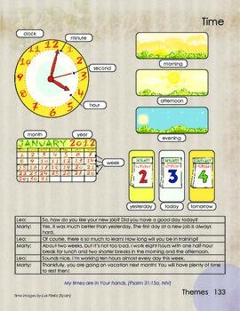 Time and Calendar Basic Vocabulary