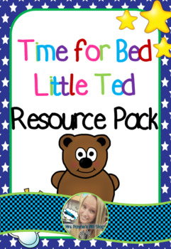 Time for Bed Little Ted Activity Pack