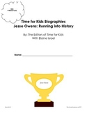 Time for Kids Biographies Jesse Owens Running into History