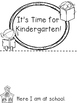 Time for Kindergarten Book Freebie!
