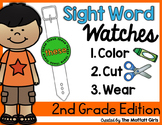 Sight Word Watches-2nd Grade