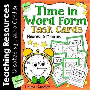 Time in Word Form (with Images for Plickers)