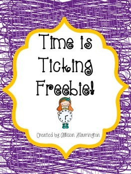 Time is Ticking Freebie