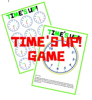 Time's up half past game