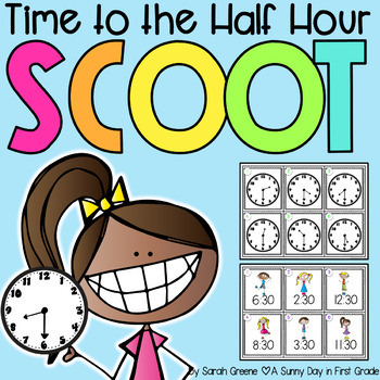Time the the Half Hour Scoot {2 games!}