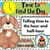 Time to Feed the Dog!  A game for telling time to the hour
