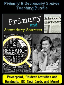 Time to Research: Primary & Secondary Sources