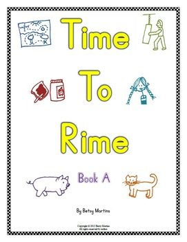 Word Families - Time to Rime Book A