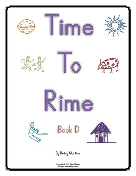 Word Families - Time to Rime Book D
