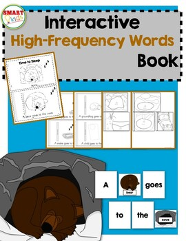Time to Sleep {Interactive High-Frequency Words Book}