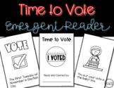 Time to Vote Emergent Reader