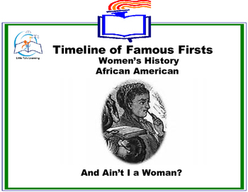 Black History Month - Timeline of Famous Firsts in Women's