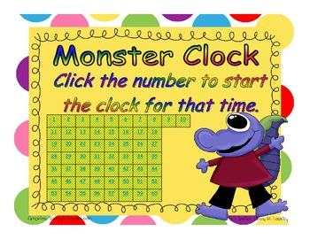 Timer - Monster Clock - 60 Minutes