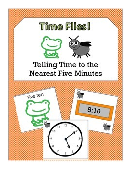 Times Flies: Telling Time -- Nearest Five Minutes on Analo